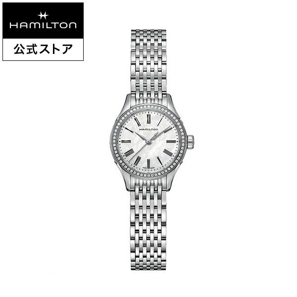 ハミルトン 公式 腕時計 Hamilton Valiant アメリカンクラシック バリアント オート レディース メタル | 正規品 ブレスレットウォッチ ブレスレット クォーツ レディースウォッチ 女性 クオーツ ドレスウォッチ プレゼント シルバー 電池 メタルバンド 女性用腕時計 華奢