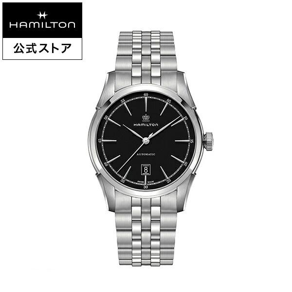 ハミルトン 公式 腕時計 Hamilton Spirit of Liberty アメリカンクラシック スピリット オブ リバティ オート メンズ メタル | 正規品 時計 メンズ腕時計 ブランド ブレスレットウォッチ 自動巻き ウォッチ 機械式 おしゃれ 男性腕時計 シンプル ブラック 男性 男性用腕時計