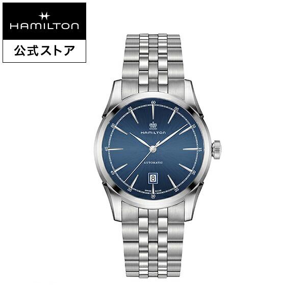 ハミルトン 公式 腕時計 Hamilton Spirit of Liberty アメリカンクラシック スピリット オブ リバティ オート メンズ メタル | 正規品 時計 メンズ腕時計 ブレスレットウォッチ 自動巻き ウォッチ 防水 ビジネス 機械式 22mm 男性腕時計 ブルー 男性 男性用腕時計 5気圧防水