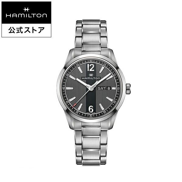 ハミルトン 公式 腕時計 Hamilton Broadway Day Date ブロードウェイ デイデイト メンズ メタル | 腕時計 時計 メンズ腕時計 ブランド うでとけい ウォッチ ビジネス 男性用腕時計 紳士 男性 ウオッチ 男性腕時計 ギフト 入社祝い 社会人 スーツ クールビズ オフィス