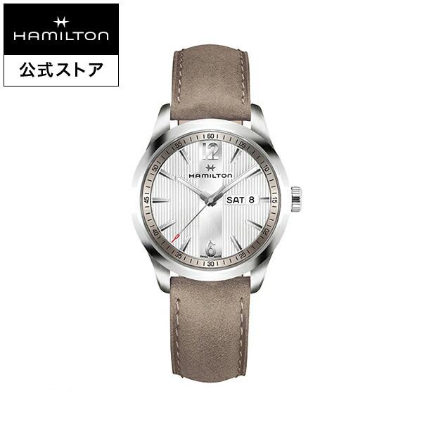 ハミルトン 公式 腕時計 Hamilton Broadway Day Date ブロードウェイ デイデイト メンズ レザー | 正規品 時計 メンズ腕時計 ブランド ベルト 革ベルト ウォッチ ブランド腕時計 ビジネス うでとけい 男性腕時計 watch 紳士 革 男性 プレゼント ウオッチ メンズウォッチ