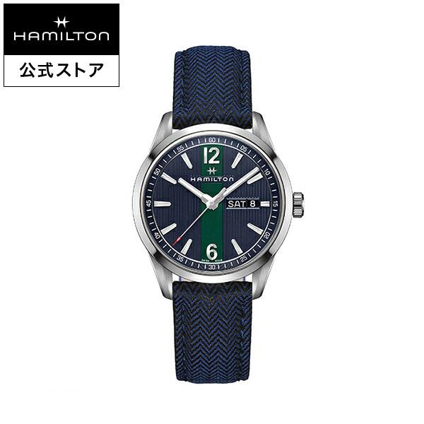 ハミルトン 公式 腕時計 Hamilton Broadway ブロードウェイ メンズ テキスタイル | 正規品 時計 メンズ腕時計 クォーツ ブランド腕時計 ベルト ウォッチ クオーツ watch 男性 紳士 プレゼント メンズウォッチ 大人 クォーツ腕時計 ギフト