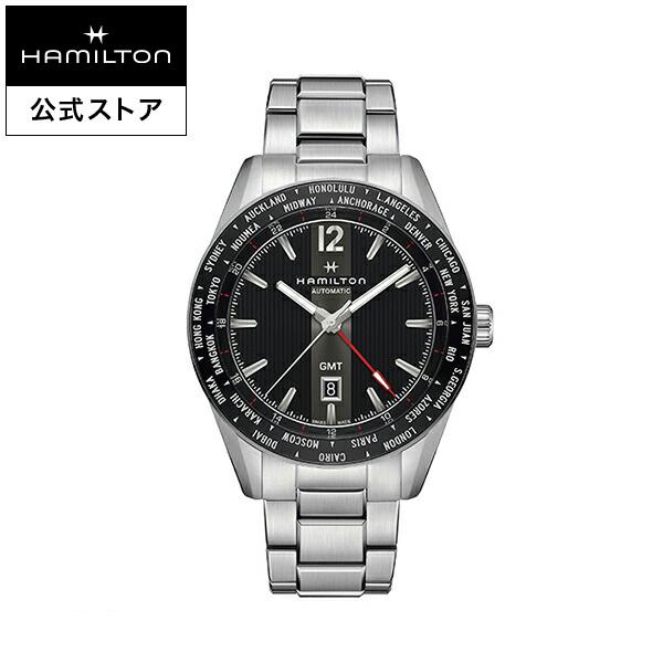 ハミルトン 公式 腕時計 Hamilton Broadway GMT Limited ブロードウェイ GMT 限定 メンズ レザー | 正規品 時計 メンズ腕時計 機械式自動巻 ブランド腕時計 ベルト ウォッチ watch グリーン 男性 紳士 プレゼント メンズウォッチ 大人 ギフト, DUNLOP GOLF SHOP bcf91558