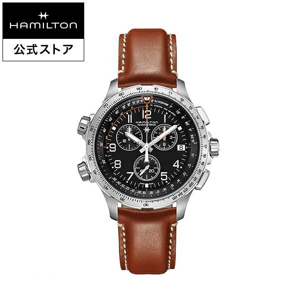 e44b1b8a05 【ハミルトン公式】HamiltonKhakiX-WindGMTカーキアビエーションカーキX-WindGMTメンズ