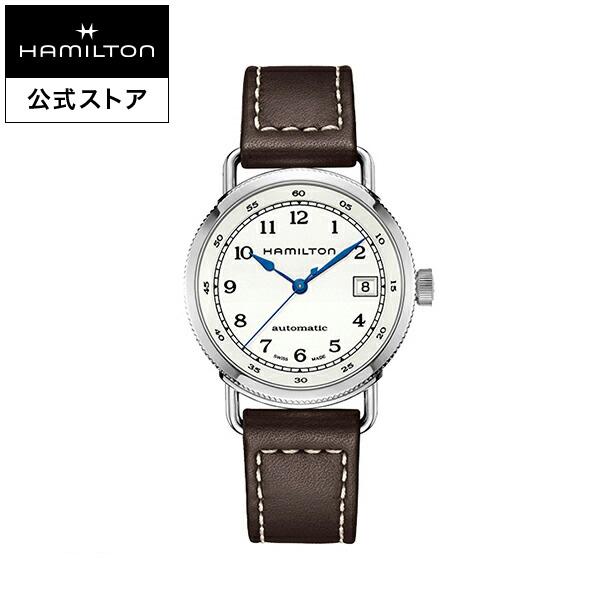 ハミルトン 公式 腕時計 Hamilton Khaki Navy Pioneer カーキ ネイビー パイオニア オート メンズ レザー | 正規品 時計 メンズ腕時計 自動巻き 革ベルト ウォッチ 自動巻 防水 ビジネス 機械式 おしゃれ 革 シンプル ドレスウォッチ レザーベルト 10気圧防水 18mm 皮