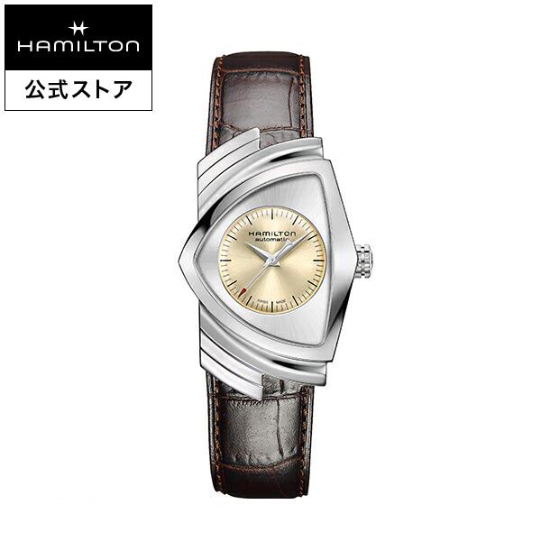 ハミルトン 公式 腕時計 Hamilton Ventura A-bg-l-bw ベンチュラ オート メンズ レザー