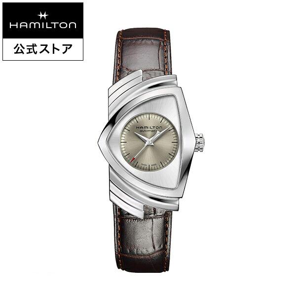 ハミルトン 公式 腕時計 Hamilton Ventura A-gr-l-br ベンチュラ オート メンズ レザー