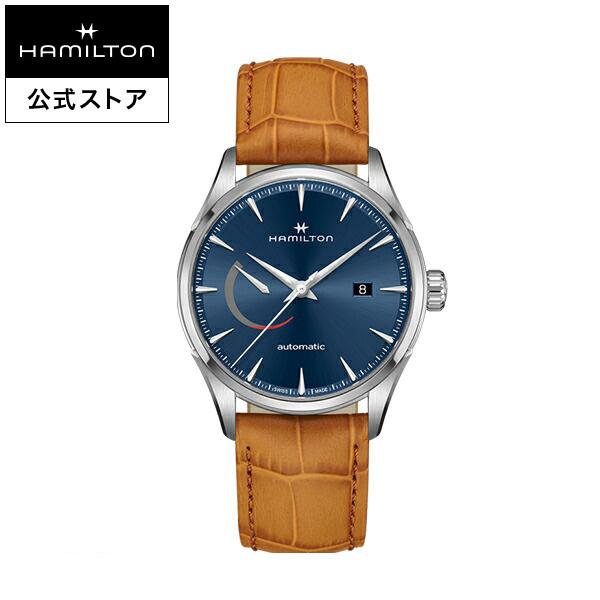 ハミルトン 公式 腕時計 Hamilton JM Power Reserve D A42-bl-l-br ジャズマスター パワーリザーブ メンズ レザー
