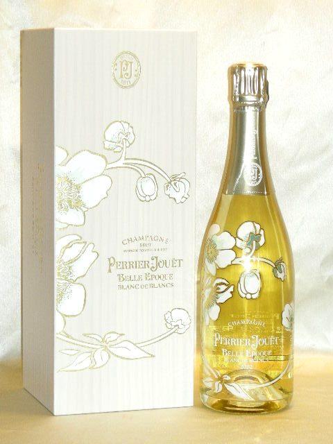 ペリエ ジュエ ベル エポック ブラン ド ブラン [2004] 豪華木箱入 【正規品】 Perrier Jouét Belle Epoque Blanc de Blancs