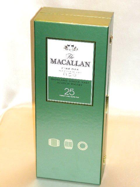 麦高伦很好橡树25年700ml装箱