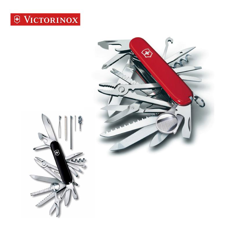 【送料無料】【VICTORINOX/ビクトリノックス】一番人気!! スイスチャンプ(全2カラー)【マルチツール/ナイフ/折りたたみ/ナイフツール/折り畳み/サバイバルナイフ/K折畳み/携帯用/アウトドア/プレゼント/人気/刃物市場】