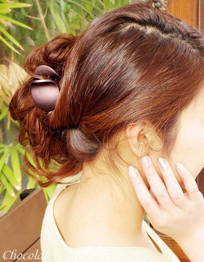 【PlatinumAsh】【バンスクリップ】ポニー(プラチナアッシュ)[就活  ヘアクリップ クリップ 小さめ ヘアアクセ シンプル ヘッドアクセ ヘアアクセサリー 髪飾り]20160226