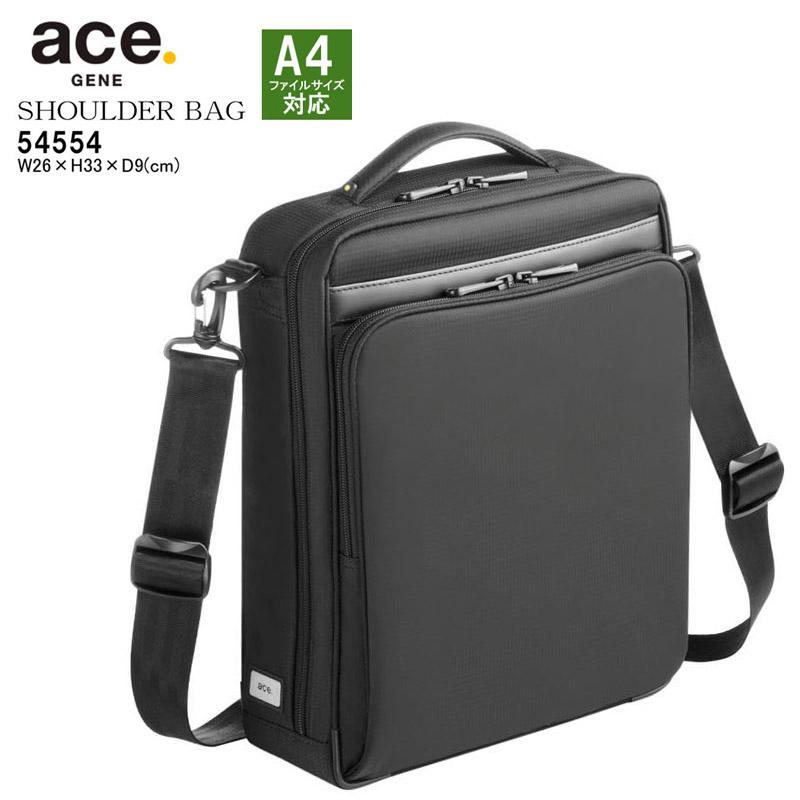 エースジーン ショルダーバッグ セカンドバッグ メンズ 斜めがけバッグ A4対応 超軽量 ACEGENE 54554 縦型(L) FLEX LITE FIT あす楽対応 男性 プレゼント ギフトラッピング無料 正規品