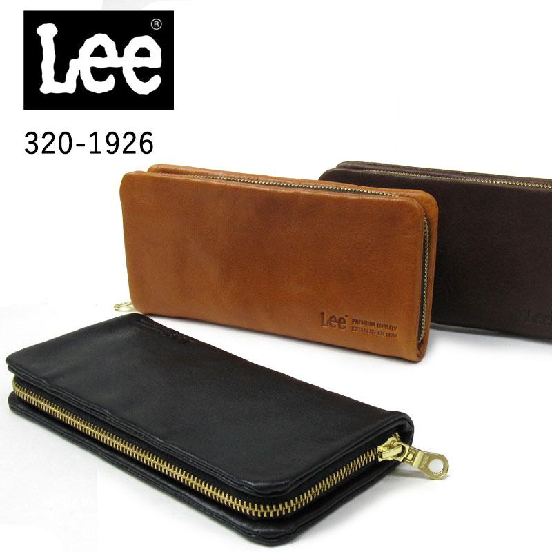 4a583a0f7f36 楽天市場】Lee リー ラウンドファスナータイプ長財布 320-1926 メンズ 本 ...
