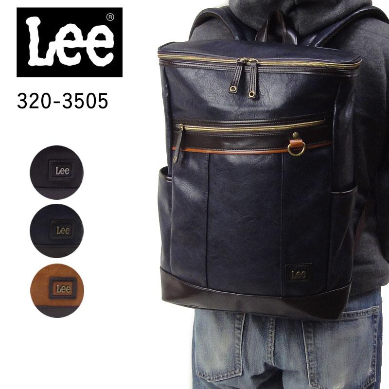 リー Lee rising ライジング リュックサック メンズ 大容量 a4 b4 320-3505 あす楽 スクエア型 男性 彼氏 プレゼント ギフトラッピング無料 通販