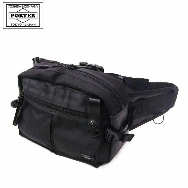 368de67f60 吉田カバン ポーター ヒート PORTER HEAT ウエストバッグ ウエストポーチ ヒップバッグ ボディバッグ メンズ 703