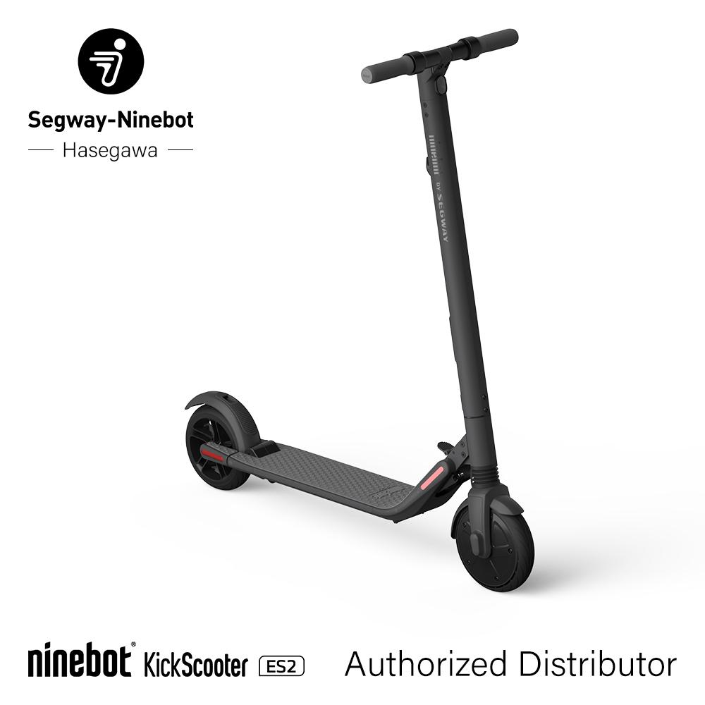 【kickscooter ES2】Segway-Ninebot Segway Ninebot セグウェイ ナインボット キックスクーター 電動 モビリティ 乗り物 長谷川工業 ハセガワ hasegawa | 電動キックボード セグウエイ パーソナルモビリティ アウトドア 折り畳み 正規品