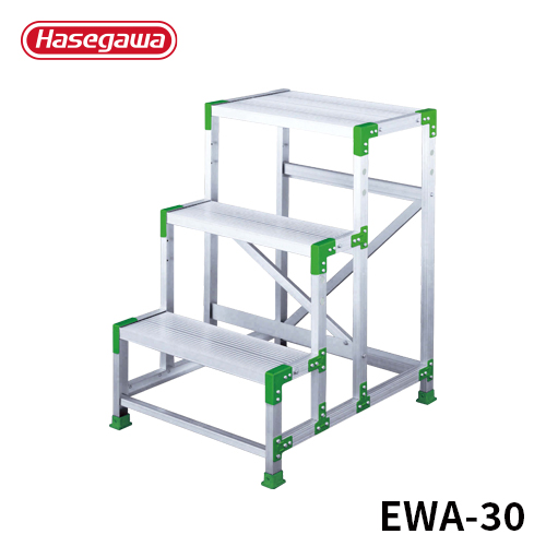 【エントリーでP10倍】【EWA-30】長谷川工業 ハセガワ hasegawa 組立式作業台 3段 エコ製品 EWA-30 0.9m