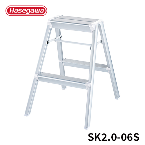 Hasegawa Kogyo Hasegawa hasegawa step stepladder boarding ramp stairs  folding step skit step two steps silver entrance ceremony photography |  Aluminum