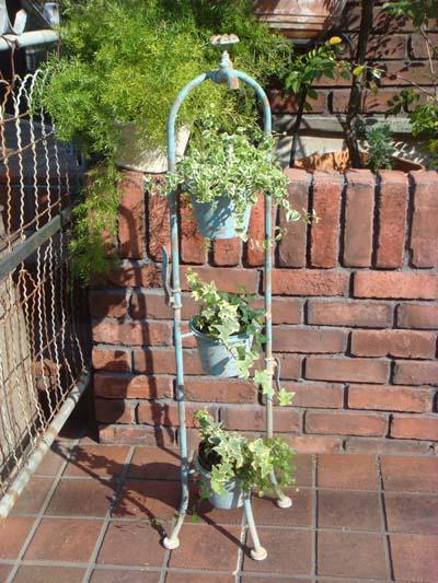 プランター アイアン ガーデニング寄せ植え ガーデン アンティーク【花遊び】『タップトリプルポット』