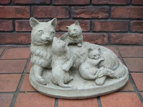 ガーデニング ガーデン 雑貨『Mother Kittens』