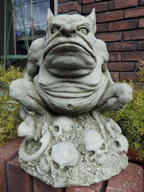 ガーデニング ガーデン 雑貨『English Gargoyle Troll』