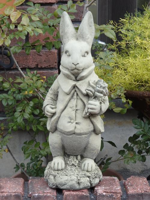 ガーデニング ガーデン 雑貨『English Wedding Rabbit Boy』