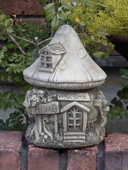 ガーデニング ガーデン 雑貨『English Welcome Mushroon House』