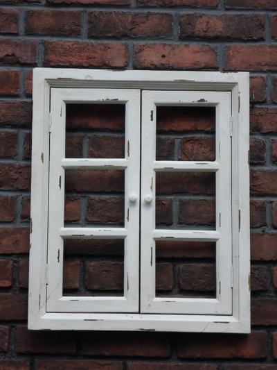 窓 ドア ハンギング フレーム フェンス 木製ガーデニング ガーデン アンティーク 【花遊び】『ウィンドウホワイトフレーム・S(ダブルドア)』