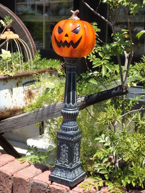 ハロウィン かぼちゃ パンプキン オーナメント【花遊び】『街灯風♪パンプキン』