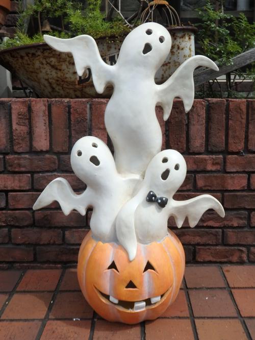 <title>ハロウィン かぼちゃ 公式通販 パンプキン オーナメント LEDライティング ゴースト</title>
