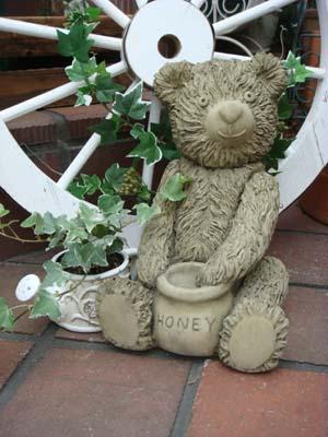 ガーデニング ガーデン 雑貨『Teddy Bear・ハニーベアー』