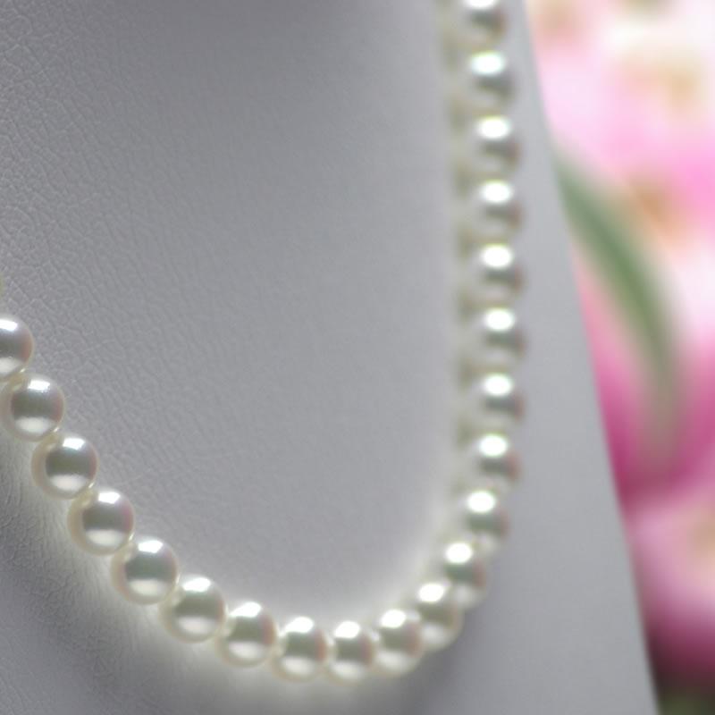 花珠真珠ネックレス K26093 7 0mm 7 5mm グリーンuTkPOiXZ