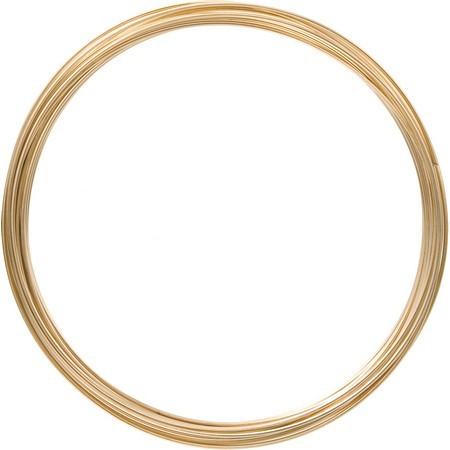 花資材 オンラインショッピング 道具 フラワーワイヤー ネット 25%OFF その他ワイヤー 針金 材料 MEGART100SGO花資材 シャンパンゴールド 手作り 即日 アートアルミワイヤー1mm×10m