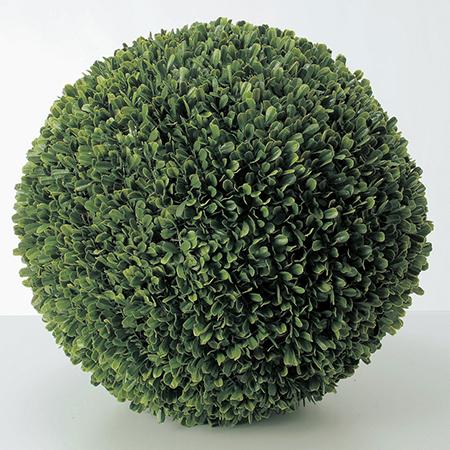 【造花】アスカ/ボックスウッドボール(L) グリ-ン/A-50680-051A【01】【取寄】