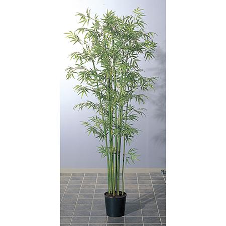 【人工観葉植物】アスカ/バンブーツリー(S) (ポット付) グリ-ン/A-56005-051A【01】【取寄】《 造花(人工観葉植物) 人工観葉植物「は行」 バンブー 》