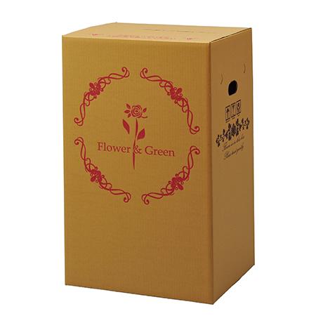 Gracias/宅配ボックス(横開きタイプ) 鉢物用/73102【01】[25枚]《 ラッピング用品 ・梱包資材 ラッピング箱・梱包箱 宅配ボックス 》