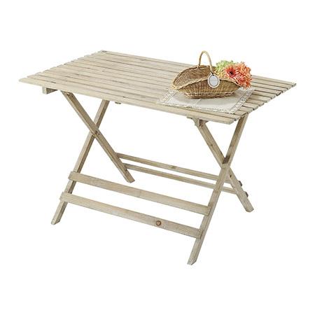 paseo/折り畳み式ウッドテーブル/03-01L-NL【01】【取寄】《 店舗ディスプレイ 店舗ディスプレイ用品 ディスプレイテーブル 》