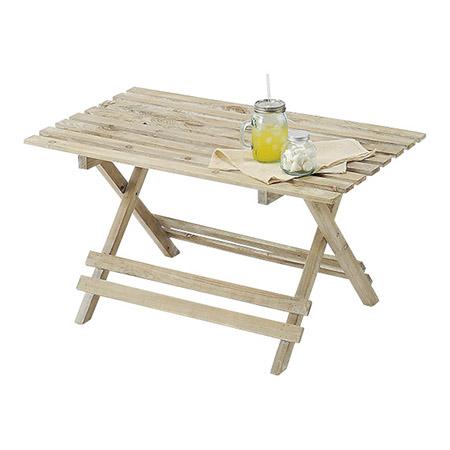 paseo/折り畳み式ウッドテーブル/03-01S-NL【01】【取寄】《 店舗ディスプレイ 店舗ディスプレイ用品 ディスプレイテーブル 》