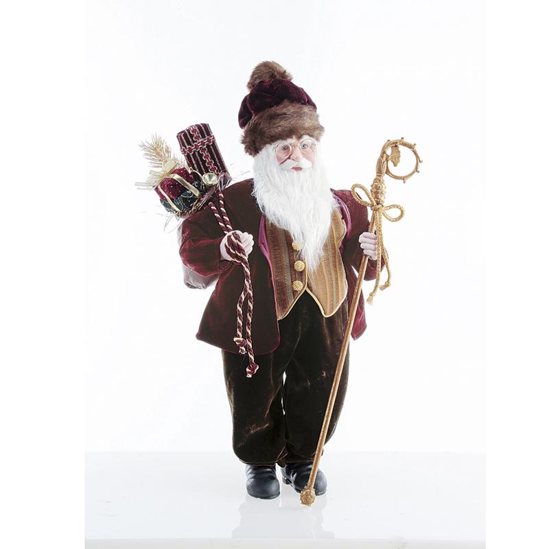 アスカ/スタンディングサンタ /AX68476-0【01】【取寄】《 店舗ディスプレイ クリスマス飾り オブジェ・小物 》