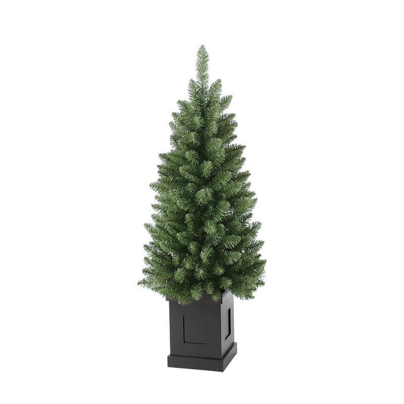 【造花】アスカ/S.コンテナツリー /AX68747-0【01】【取寄】《 店舗ディスプレイ クリスマス飾り クリスマスツリー 》
