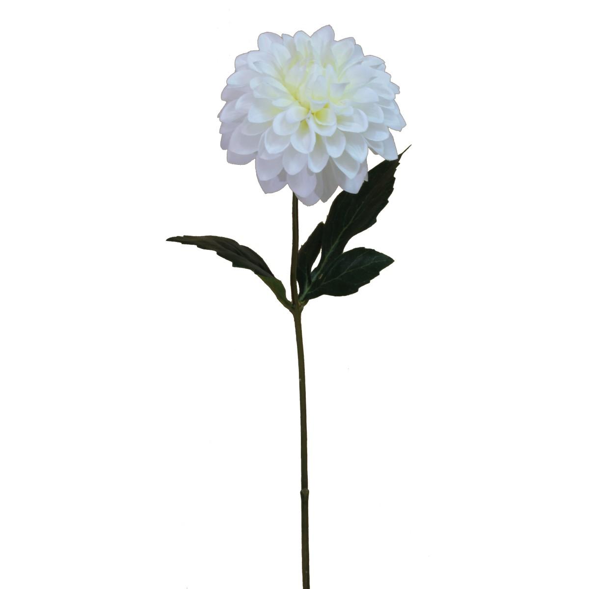 【造花】パレ/シングルダリアスプレー ホワイト/P-8293-10【01】【取寄】[24本]《 造花(アーティフィシャルフラワー) 造花 花材「た行」 ダリア 》