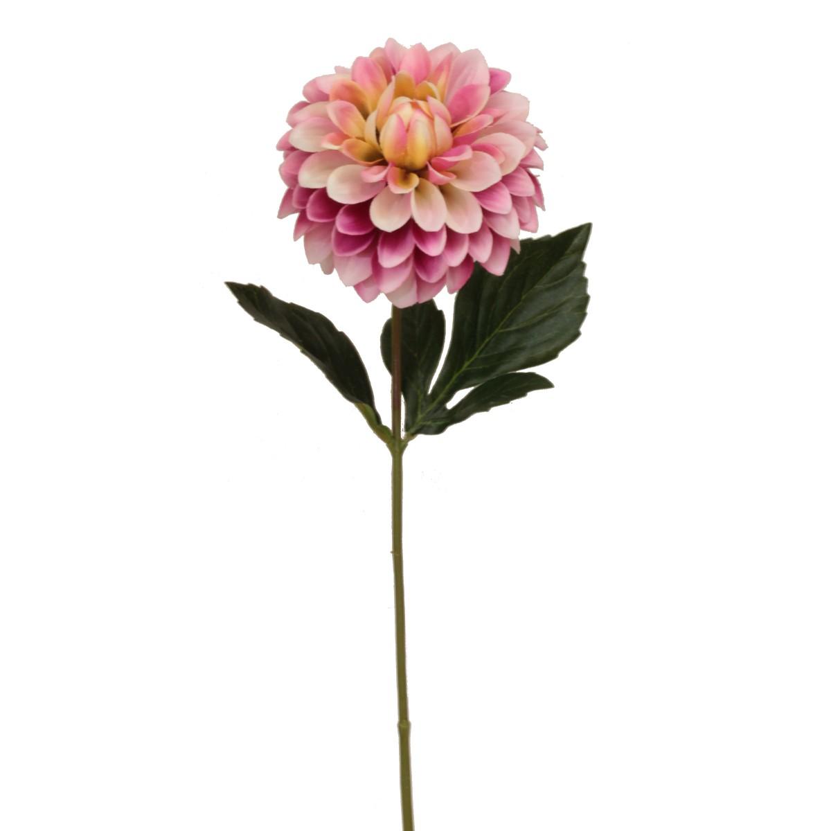 【造花】パレ/シングルダリアスプレー ピンク/P-8293-40【01】【取寄】[24本]
