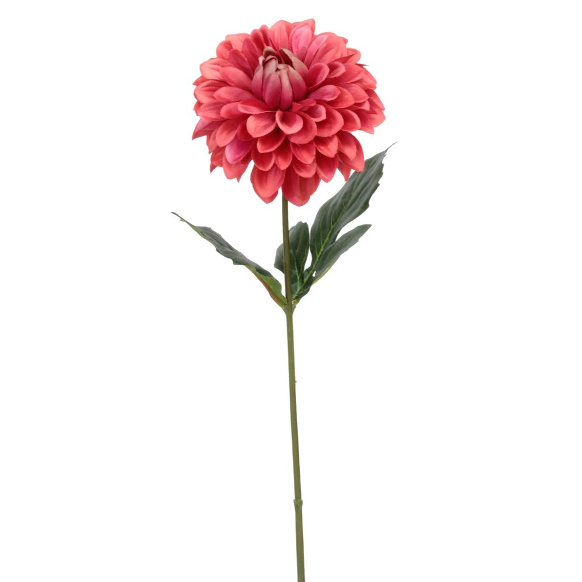 【造花】パレ/シングルダリアスプレー レッド/P-8293-50【01】【取寄】[24本]