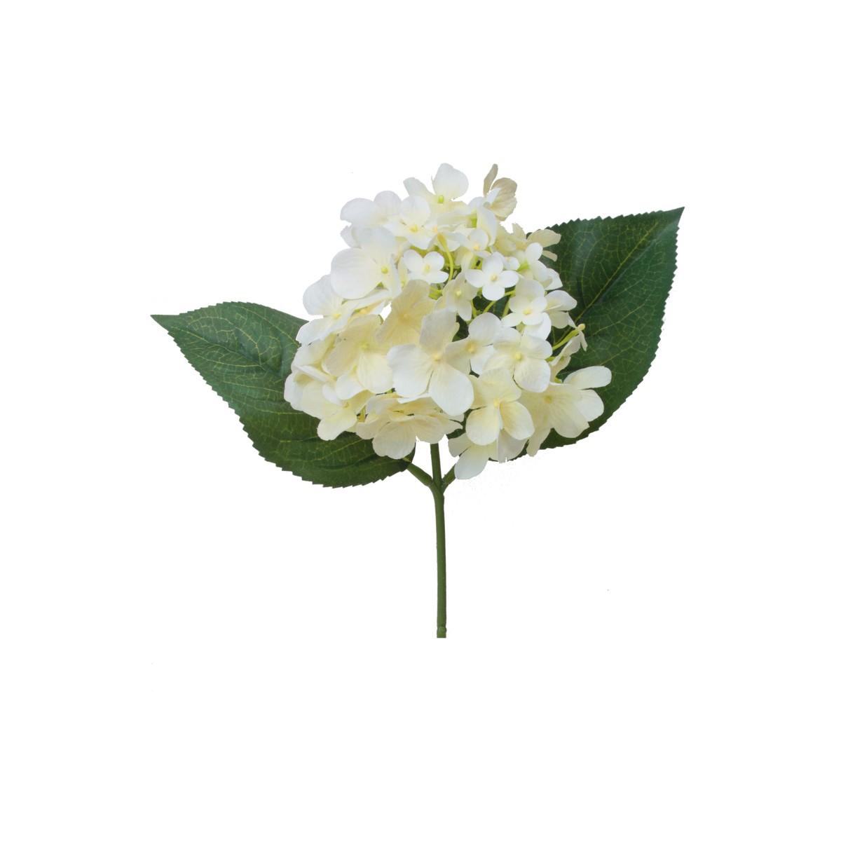 【造花】パレ/ハイドランジアピック クリーム/P-8284-10|造花 バラ【01】【取寄】[12本]