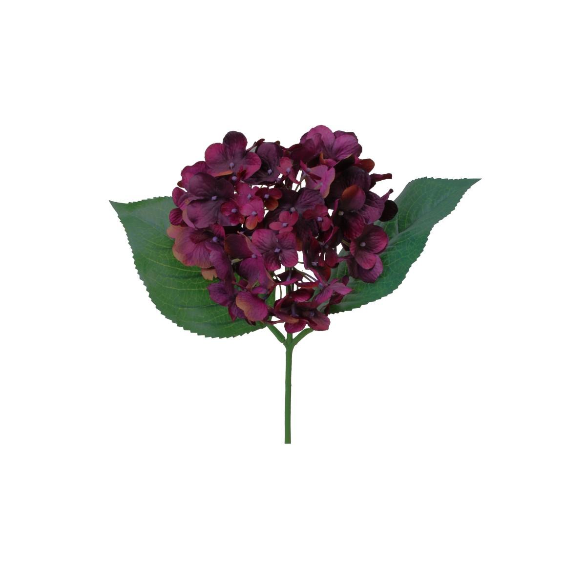 【造花】パレ/ハイドランジアピック プラム/P-8284-80|造花 バラ【01】【取寄】[12本]