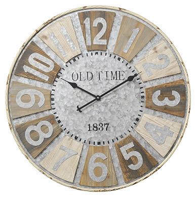 【直送】Paseo/巨大時計(幅80cm)/14-16 ※返品・代引不可【01】【取寄】《 店舗ディスプレイ インテリア 時計 》