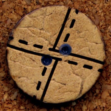 手芸用品 無料 ソーイング資材 激安格安割引情報満載 ボタン 手作り 材料 NBK 100個 Φ18mm CG1303-100 07 ナチュラルボタン 取寄