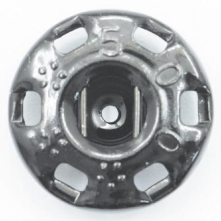 NBK/ニュー500番 スナップ 黒(黒ニッケル) 10グロス 1440個/F500-000B-G【01】【取寄】《 手芸用品 ソーイング資材 ボタン 》