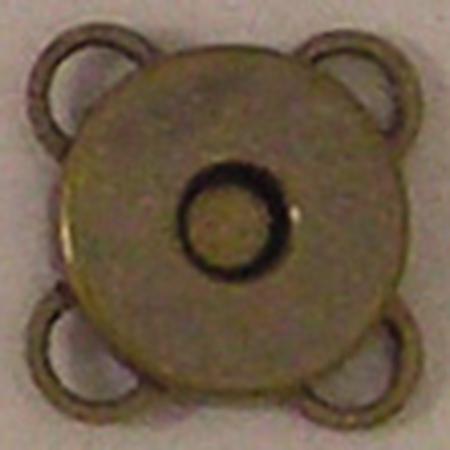 最新アイテム 手芸用品 持ち手 金具 マグネットボタン 手作り 材料 NBK 10mm 毎日がバーゲンセール 07 うす型縫い付けマグネットボタン SM6-AG-30 取寄 30組 アンティークゴールド